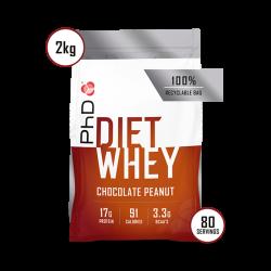 PhD Diet Whey Protein Ciocolată cu Arahide 2kg