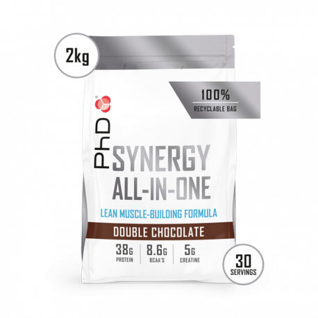 Pudră Proteică PhD Synergy All-In-One Ciocolată 2kg