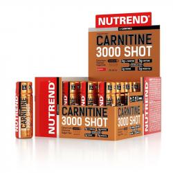 Cutie 20 Shoturi Nutrend L-Carnitină 3000mg Aromă de Portocale 60ml