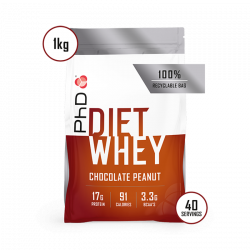 PhD Diet Whey Protein Ciocolată cu Arahide 1kg