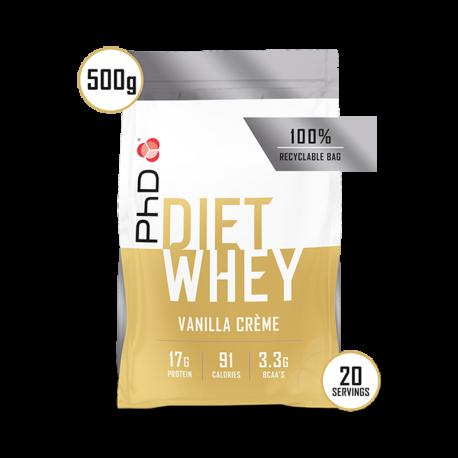 PhD Diet Whey Protein Vanilie 500g