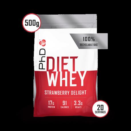 PhD Diet Whey Protein Căpșuni 500g
