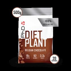 PhD Diet Plant Protein Ciocolată Belgiană 500g