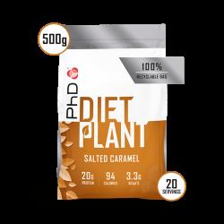 PhD Diet Plant Protein Caramel Sărat 500g