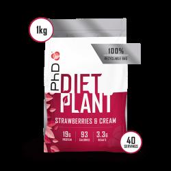 PhD Diet Plant Protein Căpșuni 1kg