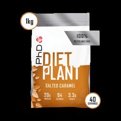 PhD Diet Plant Protein Caramel Sărat 1kg