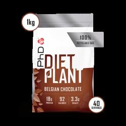 PhD Diet Plant Protein Ciocolată Belgiană 1kg