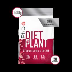 PhD Diet Plant Protein Căpșuni 500g