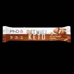PhD Diet Whey KETO Bar Salted Peanut Caramel 50g