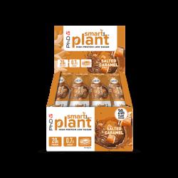Cutie 12 Batoane PhD Smart Bar Plant Salted Caramel 64g