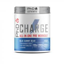 PhD Pre-Workout Charge Blue Gummy Bear 300g