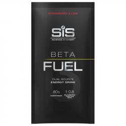 SiS Beta Fuel 80 Aromă de Căpșuni și Lime 82g