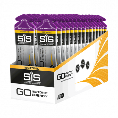 Cutie 30 Geluri SiS Go Isotonic Energy Gel Coacăze 60ml