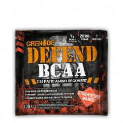 Grenade Defend BCAA Sample Căpșuni și Mango