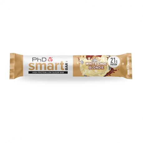 Baton Proteic Phd Smart Bar White Chocolate Blondie 64g