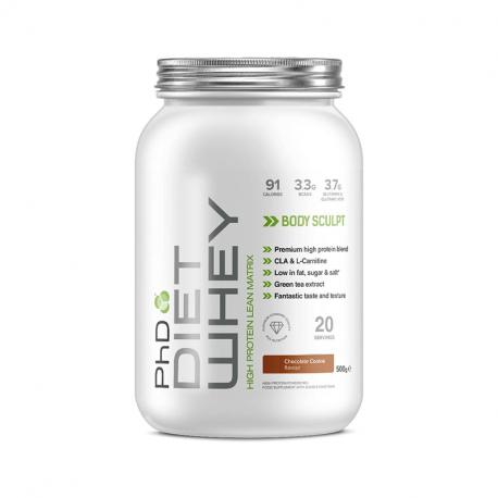 PhD Diet Whey Protein Ciocolată cu Arahide 500g