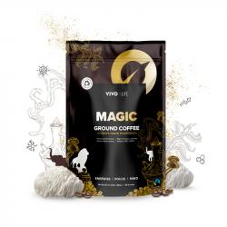 Vivo MAGIC Cafea Organică 100% Arabica cu extract de Coama Leului