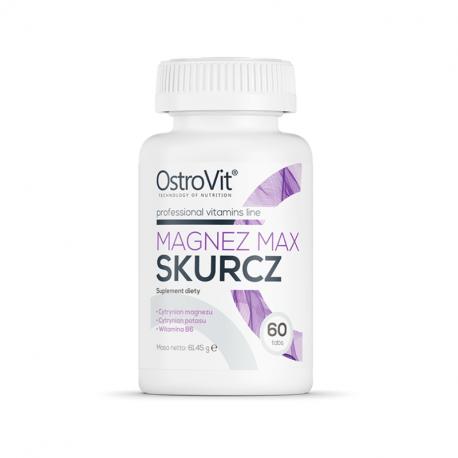 OstroVit Magenz MAX - Magneziu - Potasiu - B6 60 tablete