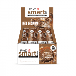 Cutie 12 Batoane Phd Smart Bar Salted Fudge Brownie 64g