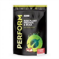 Vivo Perform Proteine Vegetale & BCAA Aromă de Căpșuni și Vanilie 532g