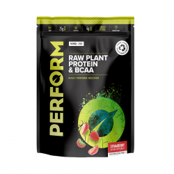 Vivo Perform Proteine Vegetale & BCAA Aromă de Căpșuni și Vanilie 988g