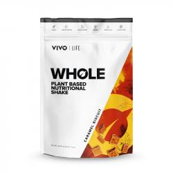 Vivo Whole Shake Nutritiv din Plante Aromă de Caramel cu Biscuiți 1kg